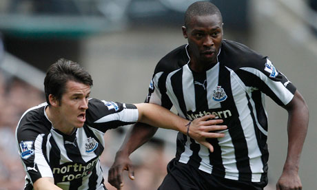 Joey Barton and Shola Ameobi
