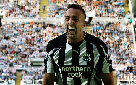 Jose Enrique vents his emotions in the Tyne Wear derby between Newcastle United & Sunderland