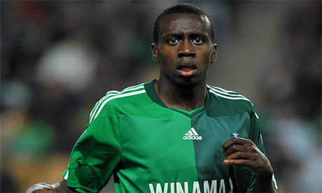 Blaise Matuidi in action for Saint-Étienne in the Ligue 1