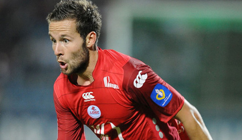 Yohan Cabaye in action for Lille against Rennes