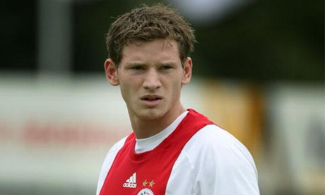 Jan Vertonghen in action for Ajax during a league match
