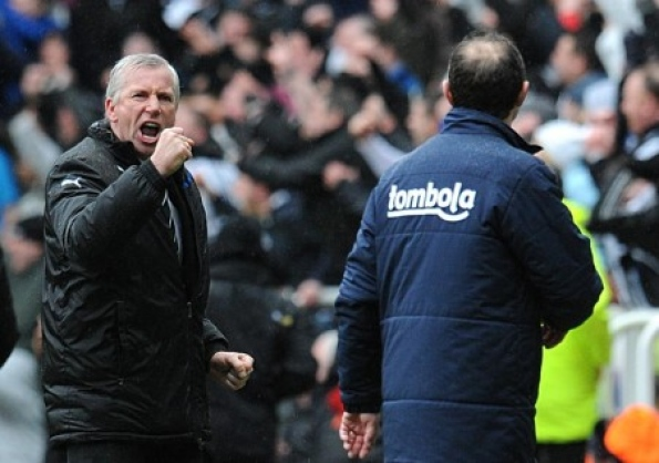 Alan Pardew reveals emotion after Newcastle United are awarded a penalty