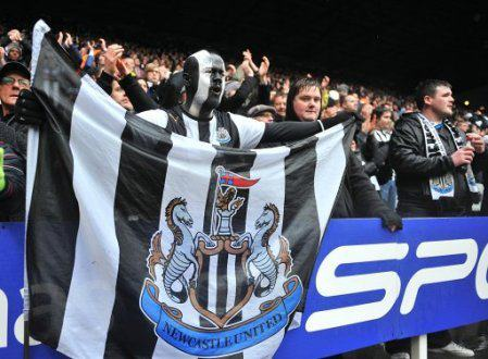 Newcastle United fans prepare for the Tyne-Wear