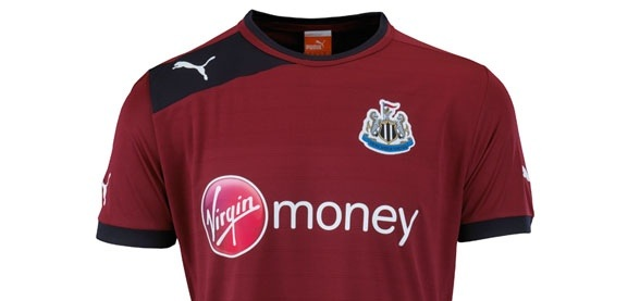 Newcastle United's 2012/13 Change Strip