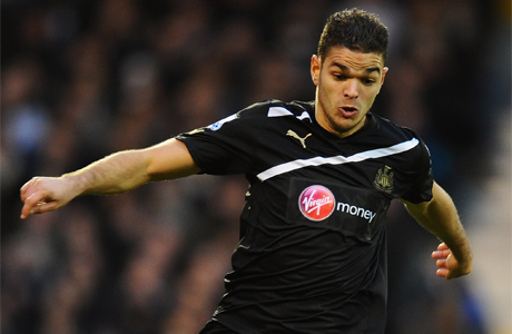 Hatem Ben Arfa in action for Newcastle United vs. Fulham
