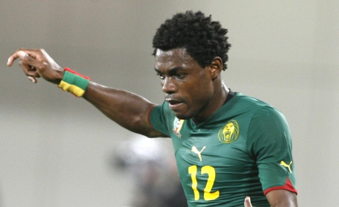 Henri Bedimo on international duty with Cameroon