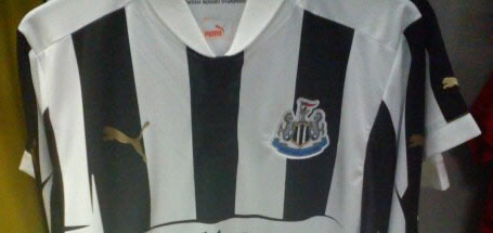Newcastle United's new jersey for the coming season