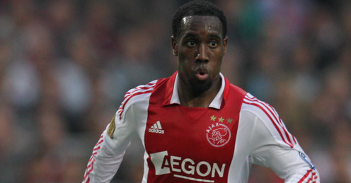 Vurnon Anita in action for Ajax