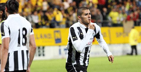 Mehdi Abeid scores for Newcastle United