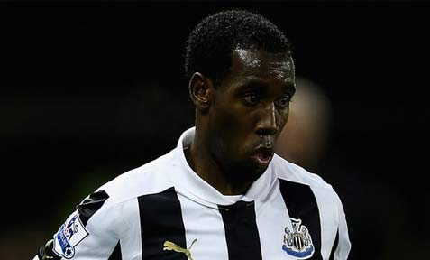 Vurnon Anita in action for Newcastle United