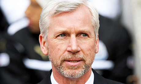 Alan Pardew and his European beard