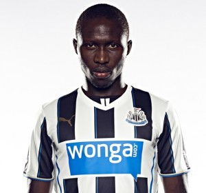 Newcastle United's 2013/14 Home Jersey