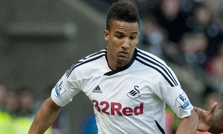 Scott Sinclair in action during his Swansea City days