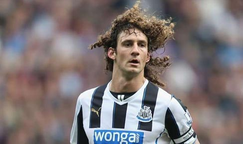 Fabricio Coloccini in action for Newcastle United
