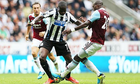Moussa Sissoko in action against West Ham
