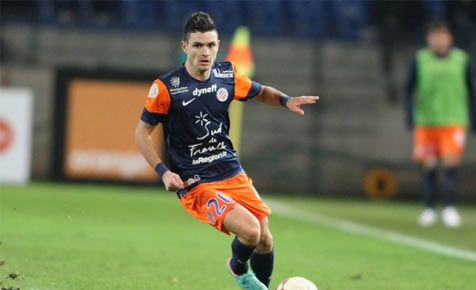 Rémy Cabella in action for Montpellier