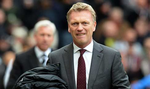 David Moyes gets ready for his side's tie against Newcastle United