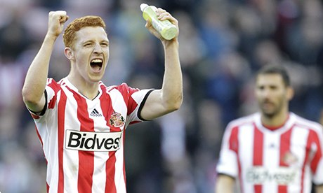 Jack Colback in action for Sunderland