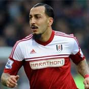 Konstantinos Mitroglou in action for Fulham