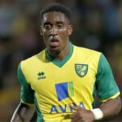 Leroy Fer lines out for Norwich City