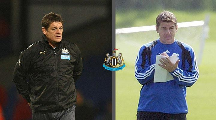 John Carver down through the years at Newcastle United